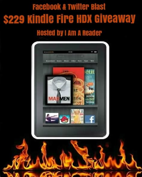 Kindle Fire Giveaway Facebook - twitter facebook blast 229 giveaway wishful endings