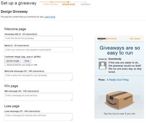 Amazon Giveaway Promotion - what to know about amazon giveaway