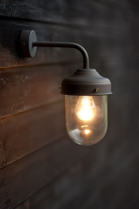 barn outdoor light coffee bean