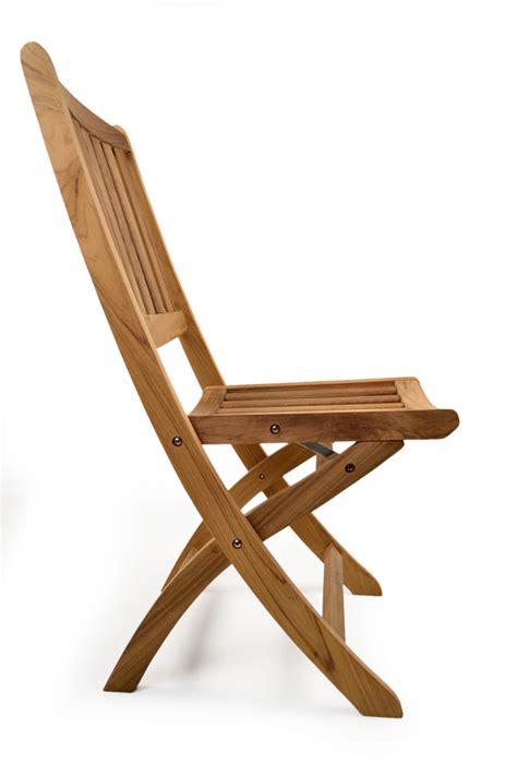 york folding teak side chair grade a teak furniture