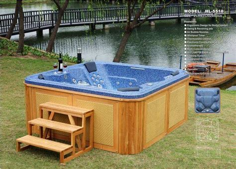 Outdoor Tubs For Sale 6 Seat Outdoor Spa Bath Tub 5510 For Sale From