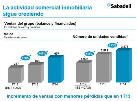 viviendas de banco sabadell banco sabadell vende 3 271 viviendas hasta marzo un 13
