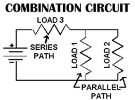 series parallel circuits combination electrical electronic series circuits