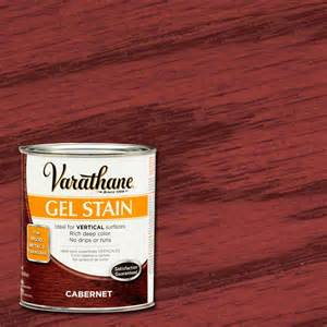 varathane 1 qt cabernet gel stain case of 2 266334