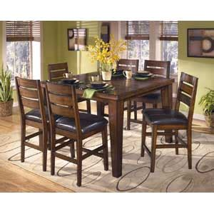 dining room furniture wayside furniture akron cleveland signature design by ashley larchmont rectangular extension