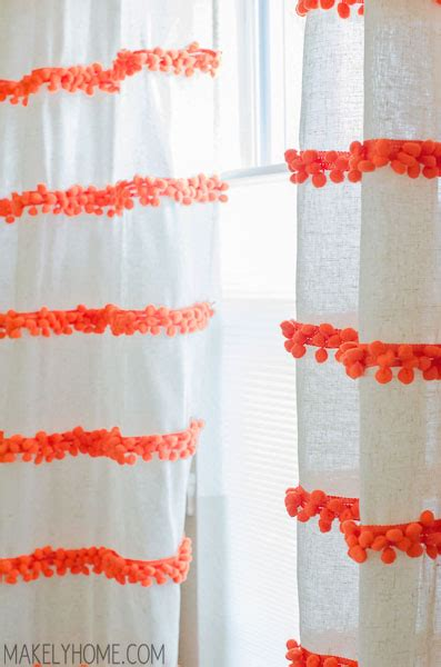 pom poms for curtains design fixation tassels and pom poms galore 10 colorful