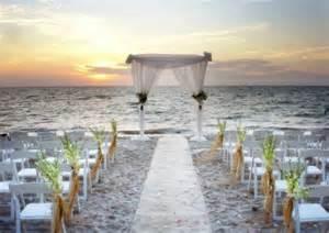 Beach wedding ceremony home exterior design ideas