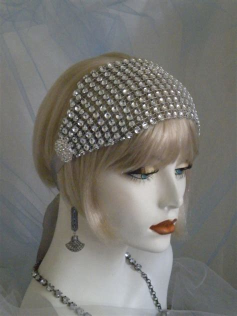 gatsby headpieces 1920 s headpiece flapper headband gatsby old hollywood