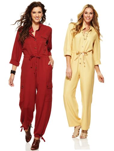 jumpsuit stitching pattern kwik sew 3898 misses jumpsuits