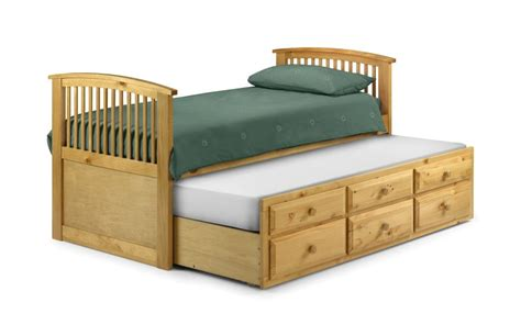 pull out trundle bed ridley furniture 3 single bed with trundle pull out ebay