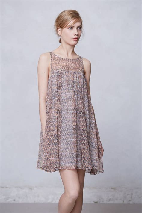Anthropologie Summer Dress by Rie Dress Variation Idea Must Try With A Woven And Even