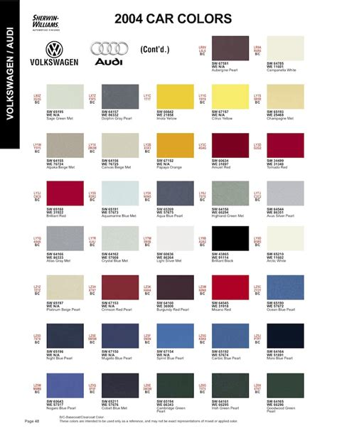 matthews paint color chart foto 2017