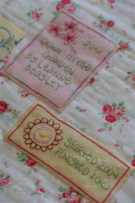Quilting Labels by Leann Es House Quilt Labels Quilts