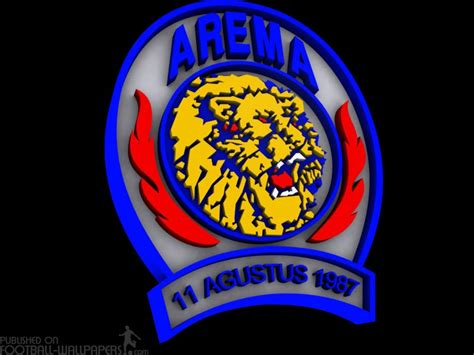 wallpaper arema indonesia arema malang  logo