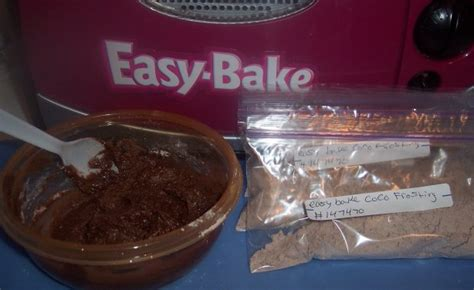easy bake oven childrens chocolate frosting recipe food com