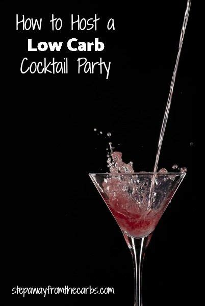 how to host a cocktail party how to host a low carb cocktail party drinks garnishes