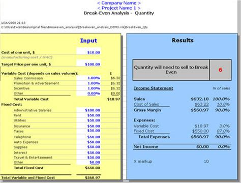 sle breakeven analysis restaurant even analysis template 28 images restaurant
