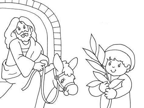coloring page of jesus on palm sunday palm sunday coloring page coloring book