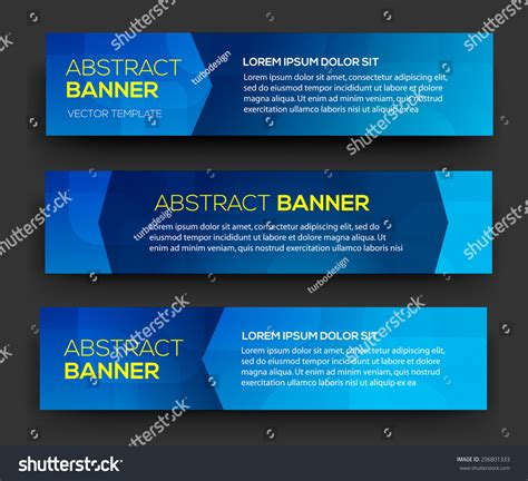 material design header image abstract banner material design vector business stock
