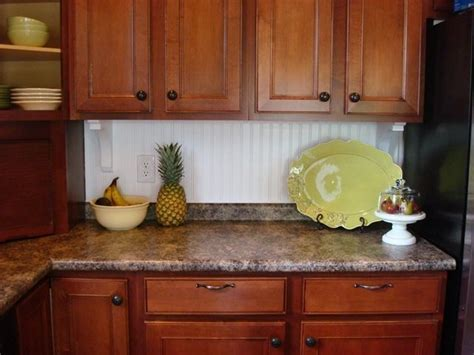 beadboard kitchen backsplash thrifty decor chick beadboard backsplash cozy kitchens