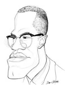 Coloring Page Of Malcolm X by Malcolm X Coloring Pages Sketch Coloring Page