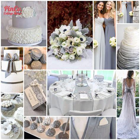 wedding wednesday gorgeous grey wedding theme blossom to flourish