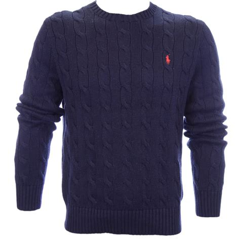 cable knit jumper polo ralph cable knit jumper navy polo ralph