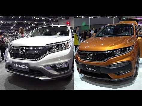 new 2016, 2017 honda crv vs honda hrv video review youtube