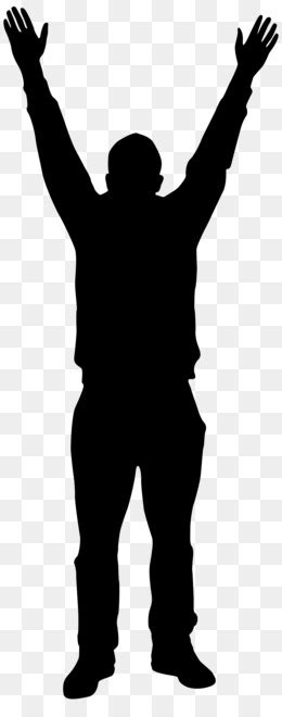 Silhouette Transparency Person