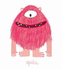 monstruo rosa mis cositas de infantil monstruo rosa