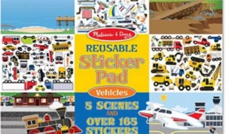 And Doug Reusable Stickers