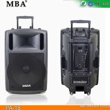 Outdoor Mba by Mba Pa 18 Outdoor Speaker Lound Stage Bluetooth Speaker