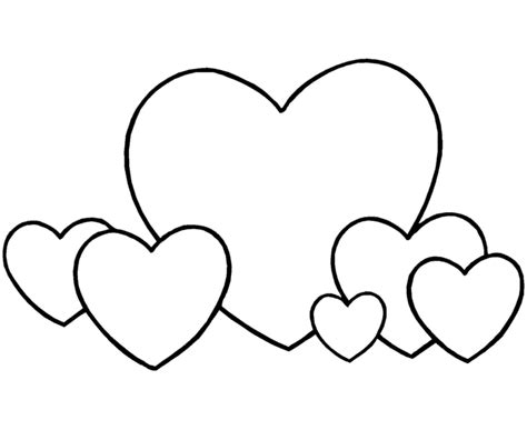 Cute Heart Coloring Pages Coloring Part 2 Hearts Coloring Page