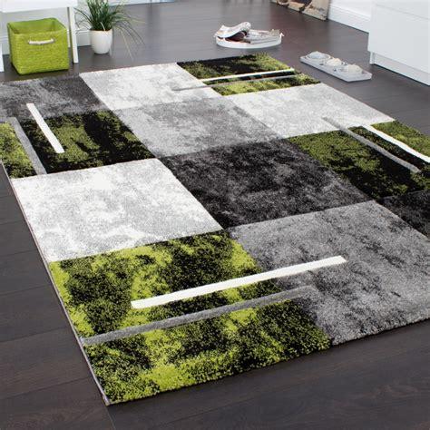teppich grau mit muster designer teppich modern mit konturenschnitt karo muster