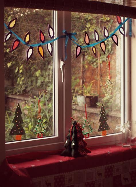Fenster Deko Weihnachten Bilder by Fensterdeko Zu Weihnachten 67 Bilder