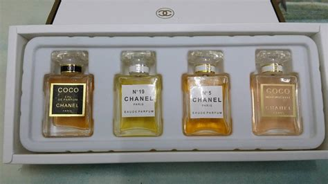 Harga Serum Chanel chanel perfume set 4 in 1 kedai cadar patchwork