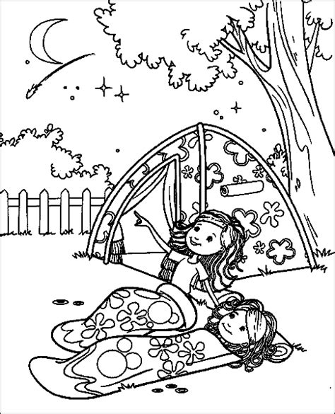 Groovy Girls Scout Printable Coloring Pages Printable