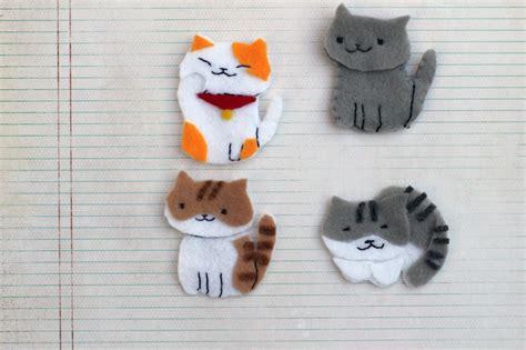 Kucing Neko Cat diy neko atsume craft librarian stylelibrarian style