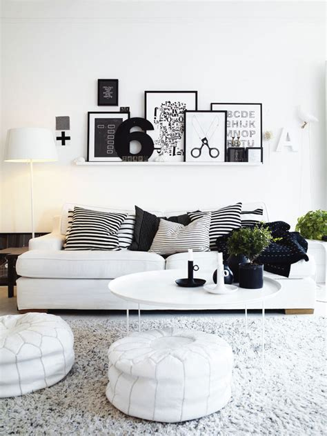 black white living room design black white room decorating idea decosee com
