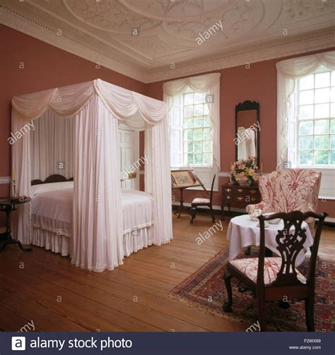 four poster bed drapes white drapes and linen on four poster bed in