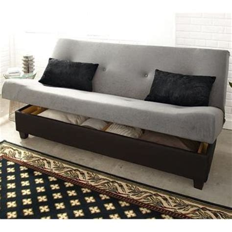 Klik Klak Sofa Bed With Storage Klik Klak Marvin Sleeper Futon With Storage Sears Sears Canada 499 99 Decorating