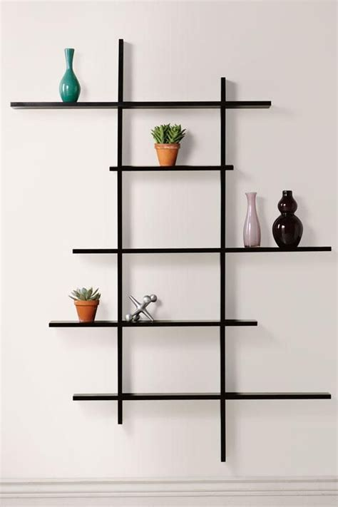 25 best ideas about wall shelving on wall