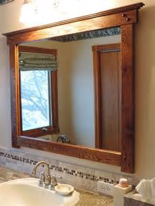 craftsman style bathroom mirrors 1000 ideas about craftsman mirrors on mission