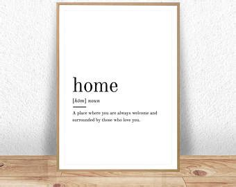home decor definition printable wall art etsy