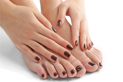 nails and pedicure gel nails manicure pedicure glow spa hong kong