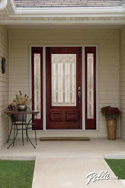 pella 174 architect series 174 fiberglass entry doors transform