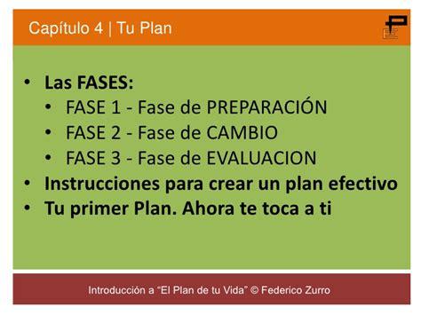 el plan de tu 8478087524 el plan de tu vida curso completo contenidos