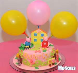 peppa pig cake huggies birthday cake gallery huggies