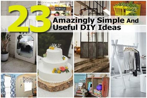 useful diy projects 23 amazingly simple and useful diy ideas
