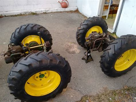 Articulated Garden Tractor by Deere 140 Articulated Build Page 3 Custom Tractor